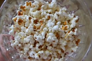 bowl of perfect popcorn