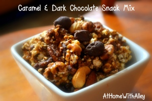 Caramel Dark Chocolate Snack Mix